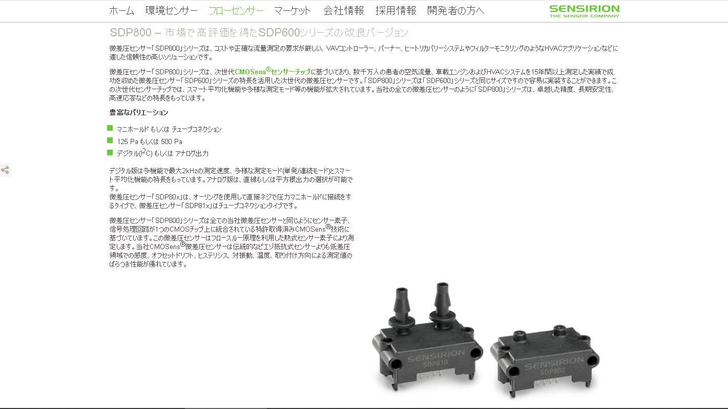 SDP8x0シリーズ