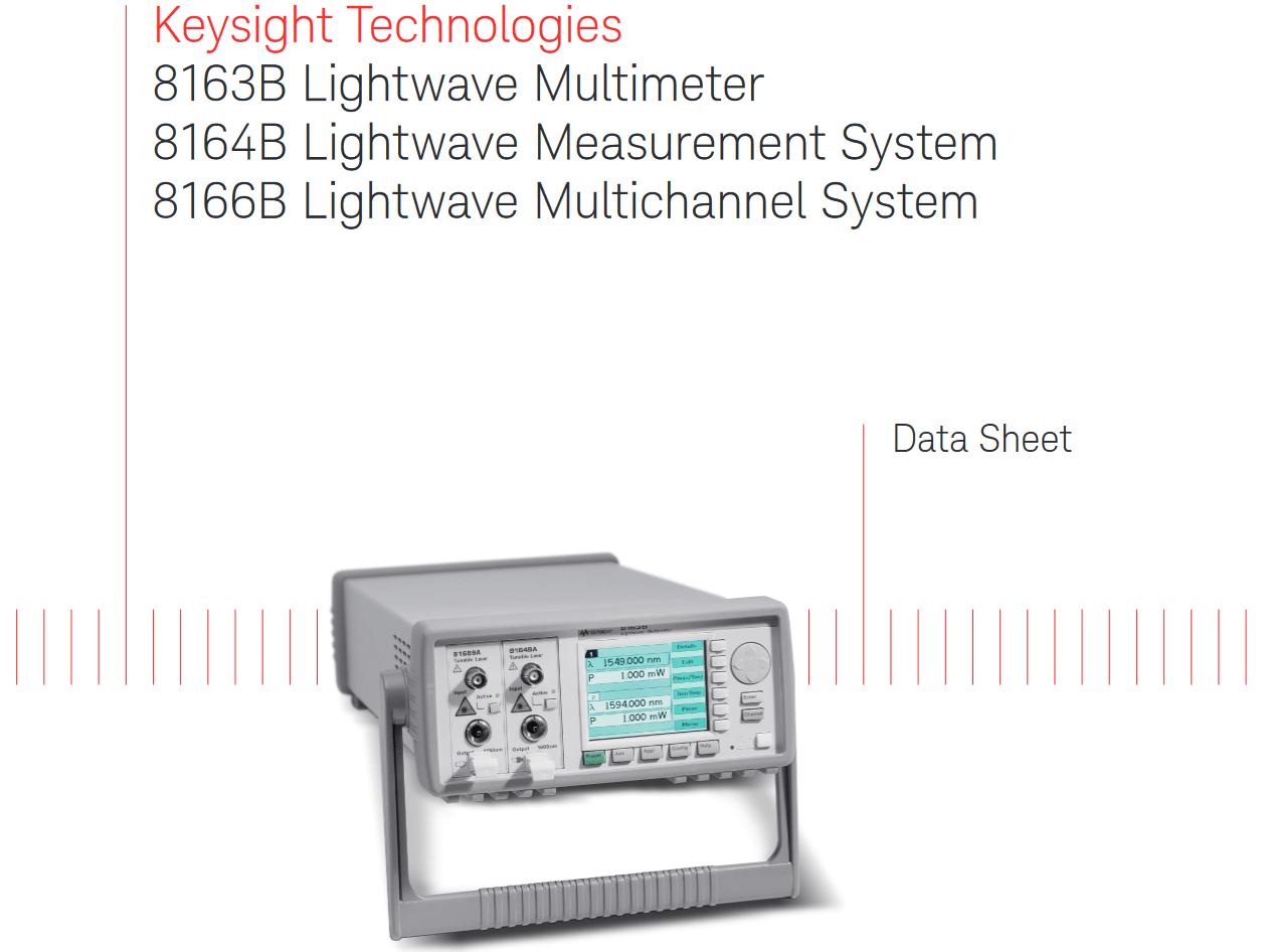 8164B ライトウェーブ・メジャメント・システム
