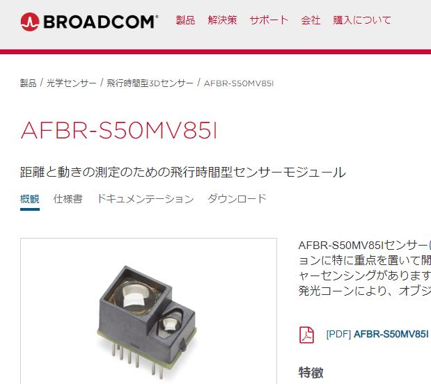 AFBR-S50MV85I