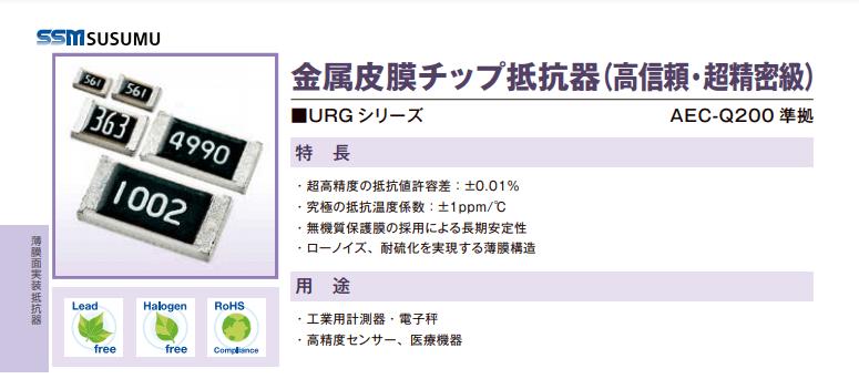 URGシリーズ URG1608L-1050-P-T1