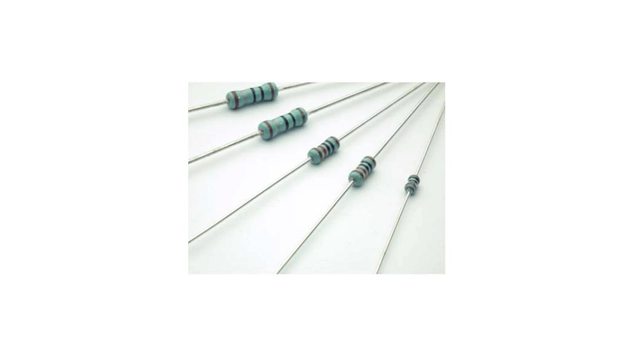 金属皮膜固定抵抗器