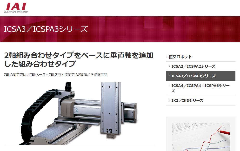 ICSA3/ICSPA3シリーズ