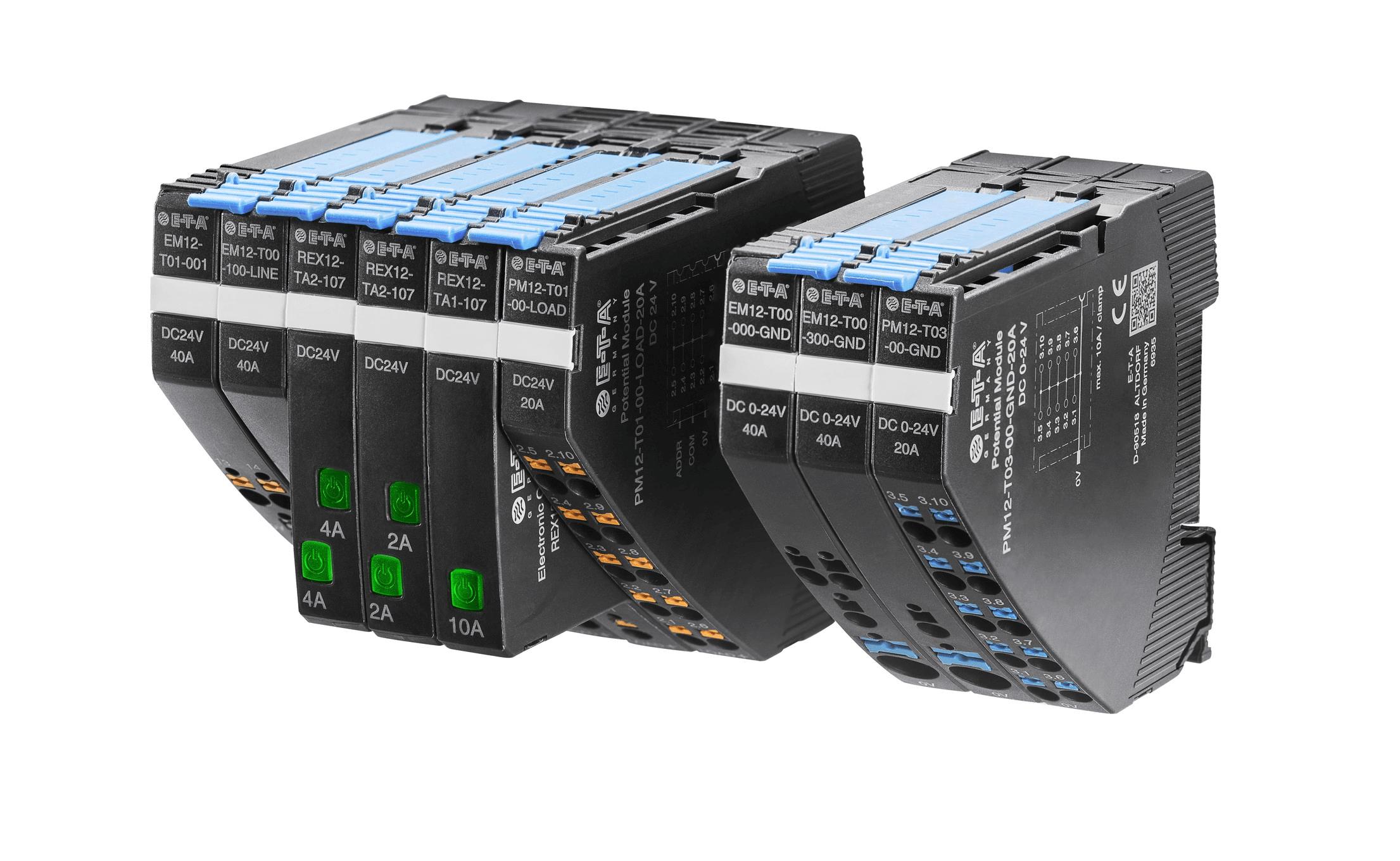 電子式サーキットプロテクタREX12シリーズ(オプション:一般産業通信機能)