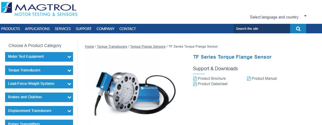 TFシリーズトルクフランジセンサー