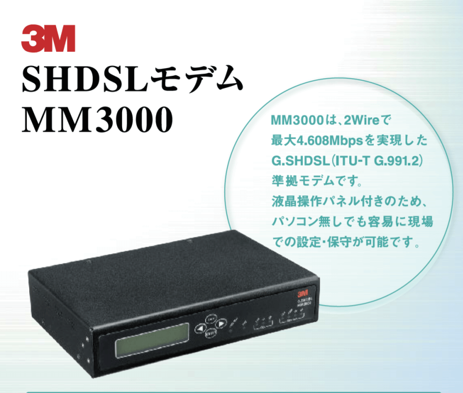 SHDSLモデムMM300