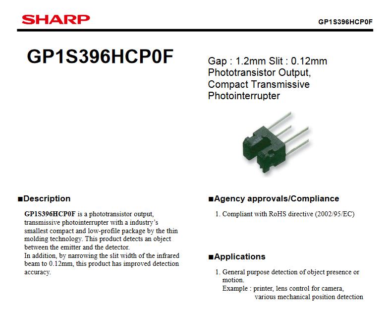 GP1S396HCP0F